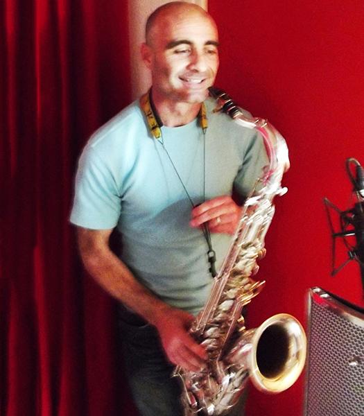 JC Parisi saxophoniste