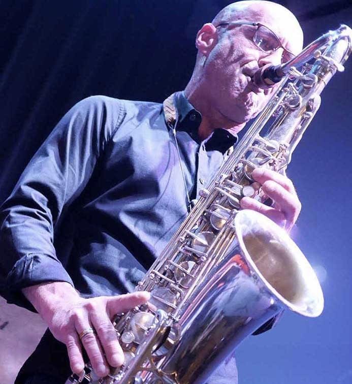 Jean Charles Parisi saxophone