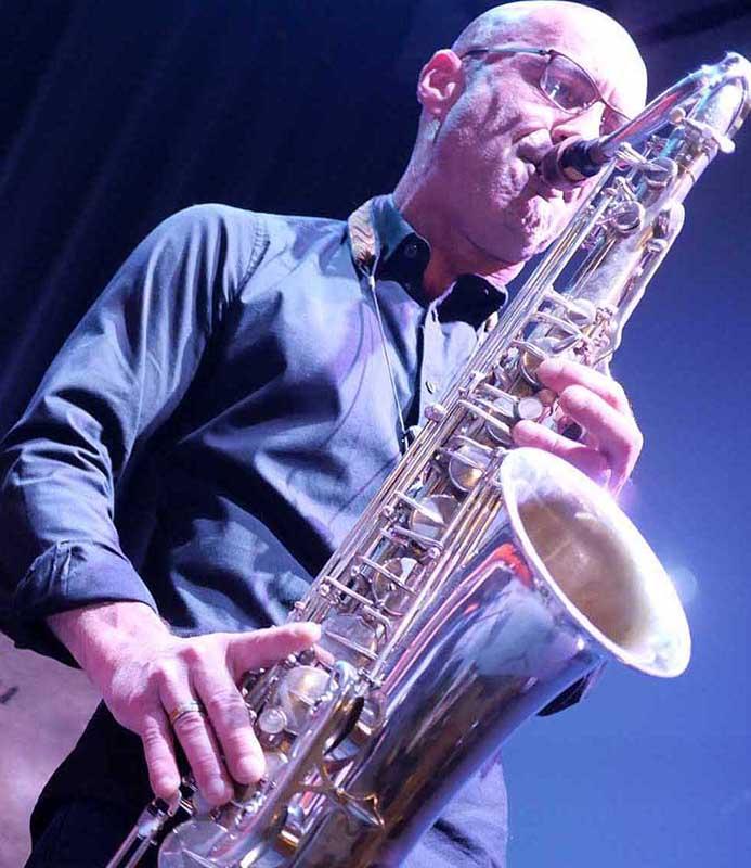Jean Charles Parisi saxophoniste